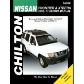 Haynes Nissan Frontier & Xterra 2005-11 (Chilton)