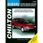 Haynes manual: Subaru Coupes/Sedans/Wagons (85-96)