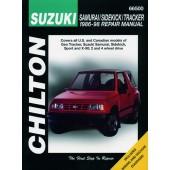 Haynes manual: Suzuki Samurai/Sidekick/Tracker (86-98)