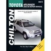 Haynes manual: Toyota 4Runner 2003-09 (Chilton USA)