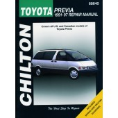 Haynes manual: Toyota Previa (91-97)