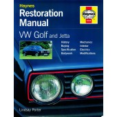 Haynes manual: Volkswagen Golf & Jetta Restoration Manual