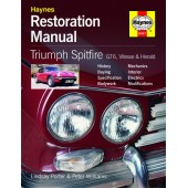 Haynes manual: Triumph Spitfire, GT6, Vitesse & Herald Restoration Manual