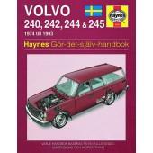 Haynes manual: Volvo 240, 242, 244 och 245 74-93 (svenske utgava)