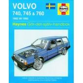 Haynes manual: Volvo 740, 745 och 760 82-92 (svenske utgava)