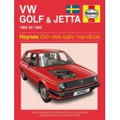Haynes manual: Volkswagen Golf och Jetta II 84-92 (svenske utgava)