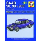 Haynes manual: Saab 90, 99 och 900 79-93 (svenske utgava)