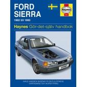 Haynes manual: Ford Sierra 82-93 (svenske utgava)