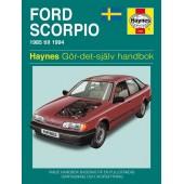 Haynes manual: Ford Scorpio 85-94 (svenske utgava)