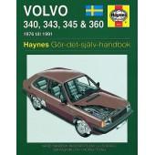 Haynes manual: Volvo 340, 343, 345 och 360 76-91 (svenske utgava)