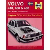 Haynes manual: Volvo 440, 460 och 480 87-97 svenske utgava)
