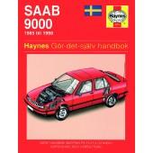 Haynes manual: Saab 9000 85-98 (svenske utgava)