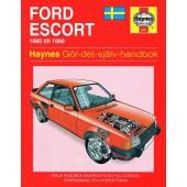 Haynes manual: Ford Escort 80-90 (svenske utgava)
