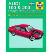 Haynes manual: Audi 100 och 200 82-90 (svenske utgava)