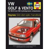Haynes manual: Volkswagen Golf III/Vento 92-98 (svenske utgava)