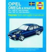 Haynes manual: Opel Omega och Senator 86-94 (svenske utgava)