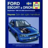 Haynes manual: Ford Escort och Orion 90-00 (svenske utgava)