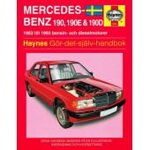 Haynes manual: Mercedes-Benz 190, 190E och 190D 83-93 (svenske utgava)