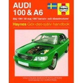 Haynes manual: Audi 100 och A6 Maj 91-Maj 97 (svenske utgava)