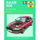 Haynes manual: Saab 900 Okt 93-98 (svenske utgava)