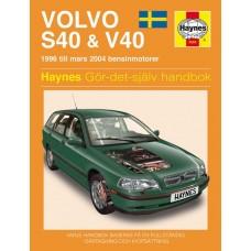 Haynes manual: Volvo S40 & V40 96-04 (svenske utgava)
