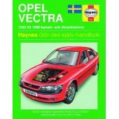 Haynes manual: Opel Vectra 95-98 (svenske utgava)