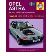 Haynes manual: Opel Astra 91-98 (svenske utgava)