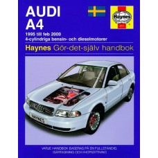 Haynes manual: Audi A4 95-Feb 00 (svenske utgava)