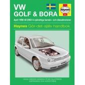 Haynes manual: Volkswagen Golf IV och Bora 98-03 (svenske utgava)