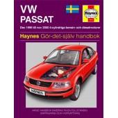 Haynes manual: Volkswagen Passat Dec 96-Nov 00 (svenske utgava)