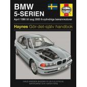 Haynes manual: BMW 5-Serien 96-03 (svenske utgava)