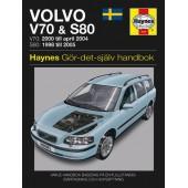 Haynes manual: Volvo V70 & S80 98-05 (svenske utgava)