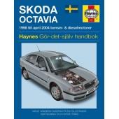 Haynes manual: Skoda Octavia 98-04 (svenske utgava)