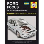 Haynes manual: Ford Focus (01 -04) (svenske utgava )