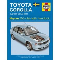 Haynes manual: Toyota Corolla Juli 97 till Feb 02 (svenske utgava)