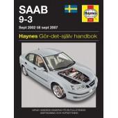 Haynes manual: Saab 9-3 (02 to 07) (svenske utgava)