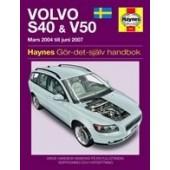 Haynes manual: Volvo S40 & V50 (04-07) (svenske utgava)