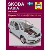 Haynes manual: Skoda Fabia (00-06) (svenske utgava)
