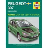 Haynes manual: Peugeot 307 (01-07) (svenske utgava)