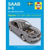 Haynes manual: Saab 9-5 (05 -10) (svenske utgava)