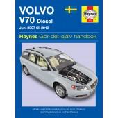 Haynes manual: Volvo V70 Diesel (07 - 12) (svenske utgava)